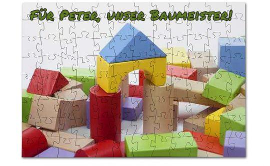 Holz Puzzle mit 96 Teilen