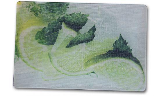Glasschneidebrett 20x28,5 cm