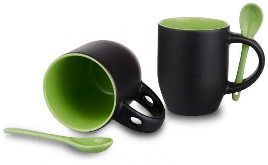 Magic Mug Löffeltasse grün