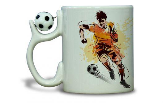 Fototasse - Fußball
