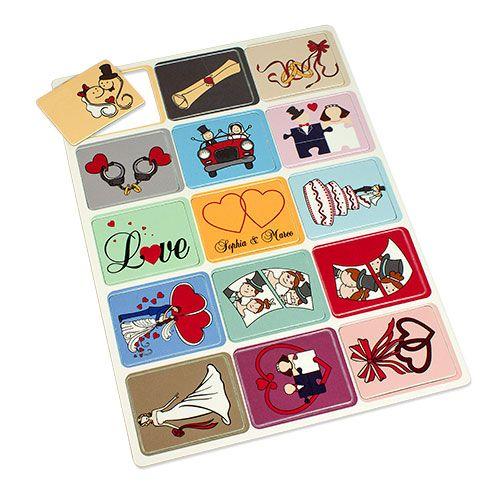 Gedächtnis-Spiel mit 30 Spielkarten