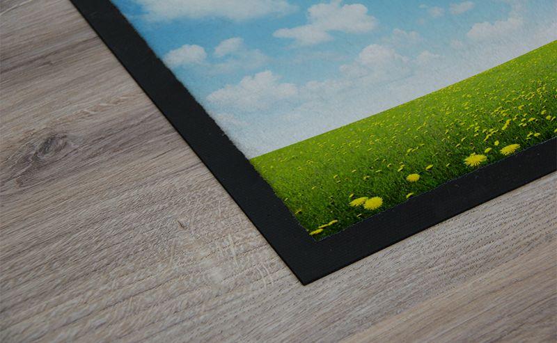 fotomatte selber gestalten foto fu matte als geschenkidee. Black Bedroom Furniture Sets. Home Design Ideas
