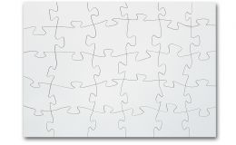 Holz Puzzle mit 30 Teilen