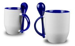Blaue Löffel-Tasse
