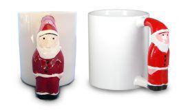 Kaffeebecher Santa Claus Henkel