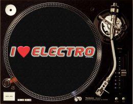 I LOVE ELECTRO Slipmats