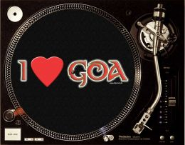 I LOVE GOA Slipmats