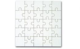 Holz Puzzle mit 25 Teilen