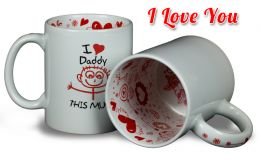 Foto-Tasse I Love You