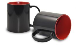 Magic Mug Zaubertasse, innen rot