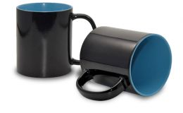 Magic Mug Zaubertasse, innen hellblau