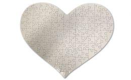 Herz Puzzle mit 115 Teilen