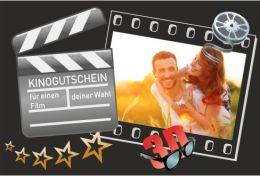 Kinogutschein - Fotopuzzle mit 24 Teilen