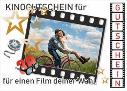 Kinogutschein als Fotopuzzle mit 12 Teilen